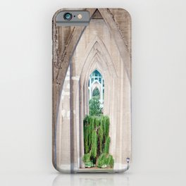Cathedral Park Portland iPhone Case