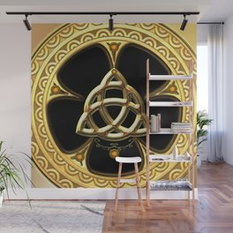 Decorative celtic knot Wall Mural