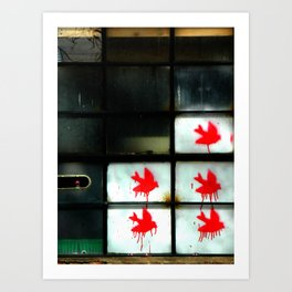 My dear Window pane... Art Print