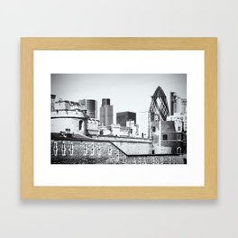 Old Meets New Framed Art Print