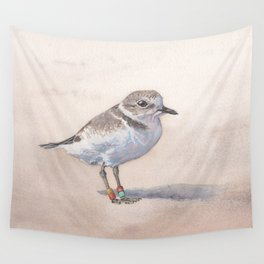 Monterey Bay Snowy Plover Wall Tapestry