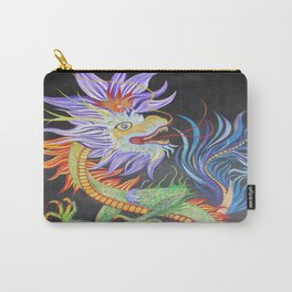 Bright and Vivid Chinese Fire Dragon Carry-All Pouch