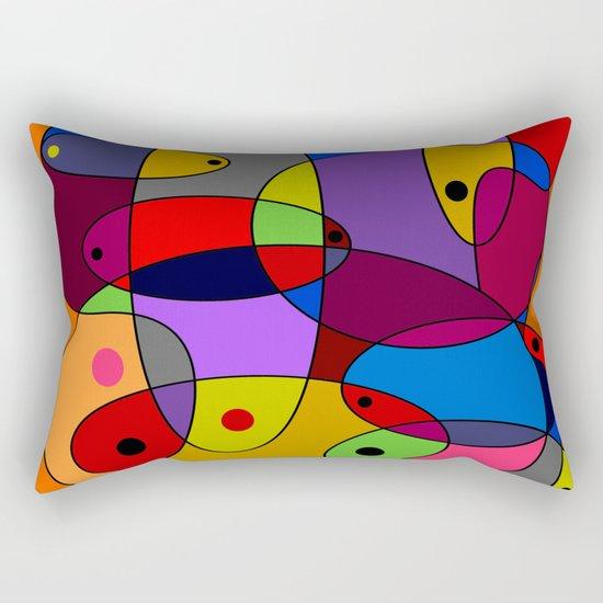 Abstract #55 Rectangular Pillow