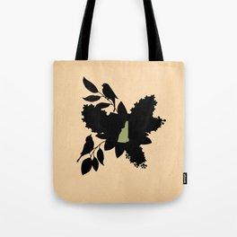 New Hampshire - State Papercut Print Tote Bag
