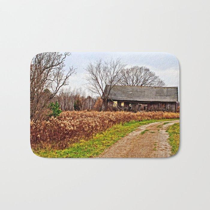 Wisconsin Old Barn 2 Bath Mat