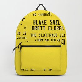 Concert Ticket Stub - Blake Shelton Backpack