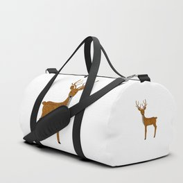 GLITTER DEER I Duffle Bag