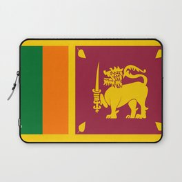 Flag of sri Lanka -ceylon,India, Asia,Sinhalese, Tamil,Pali,Buddhist,hindouist,Colombo,Moratuwa,tea Laptop Sleeve