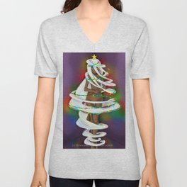 Shapeshifter Won't morph into a x-mas tree Unisex V-Neck