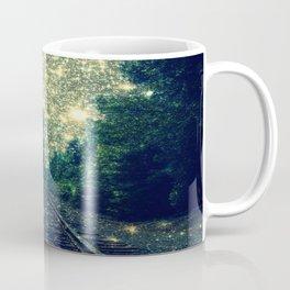 Dreamy Train Tracks Coffee Mug