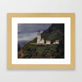 Heceta Head Lighthouse - Oregon Framed Art Print