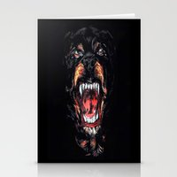 givenchy Stationery Cards featuring Givenchy Dog by I Love Decor