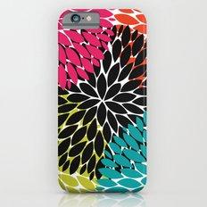 Big Tropical Flowers iPhone 6s Slim Case