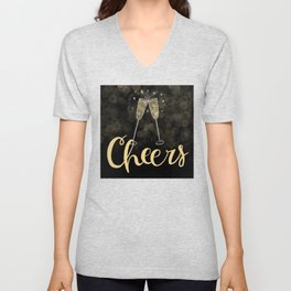 Cheers To The New Year Unisex V-Neck
