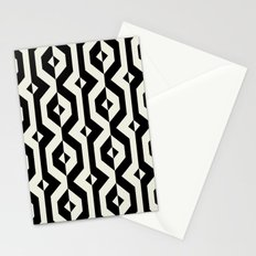 Modern bold print with diamond shapes Stationery Cards