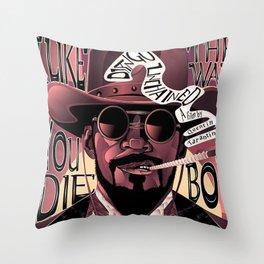 Django Poster Throw Pillow