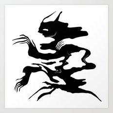 Demon 5 Art Print