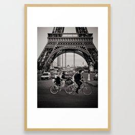 Paris love Framed Art Print