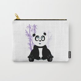 Panda Girl - Purple Carry-All Pouch