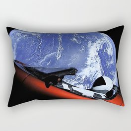 SpaceX Oddity Cars Rectangular Pillow