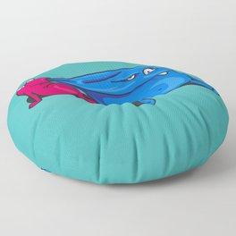 Little monsters Floor Pillow
