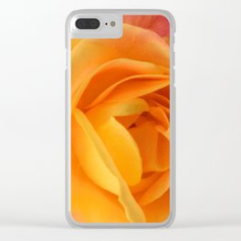 Cold Day, Warm Colors Clear iPhone Case