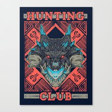 Hunting Club: Abyssal Lagiacrus Canvas Print