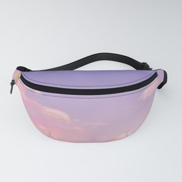 Sky Purple Aesthetic Lofi Fanny Pack