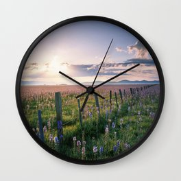 Camas Prarie Wall Clock