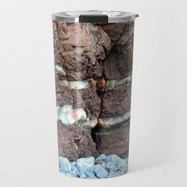 Colourful Rock Abstract Travel Mug