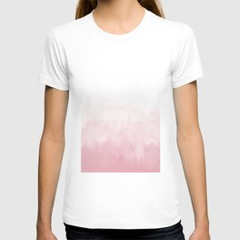 Pink watercolour T-shirt
