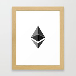 Ethereum Framed Art Print