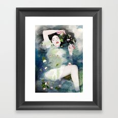 The Ondine Framed Art Print