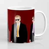 reservoir dogs Mugs featuring Reservoir Dogs by Tom Storrer
