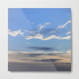 Floating along in the sky... Metal Print