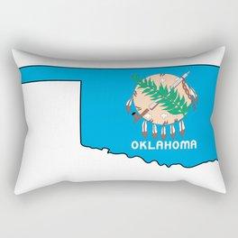Oklahoma Love Rectangular Pillow