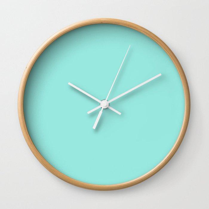 Tiffany Blue Wall Clock