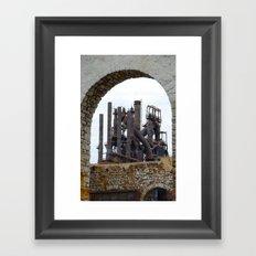 Bethlehem Steel Blast Furnace 6 Framed Art Print