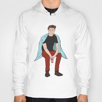 dean winchester Hoodies featuring Winter Dean Winchester by HarvestMoon