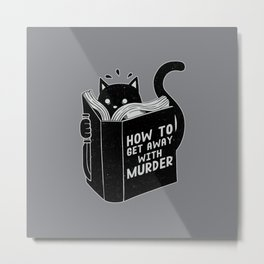 How to get away with murder Metal Print