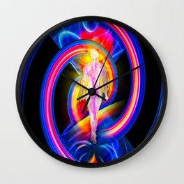 Atrium wrong ways Wall Clock