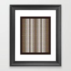 Atomic Spears Framed Art Print