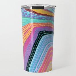 Marbled Agate Travel Mug