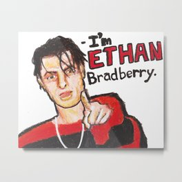 I'M ETHAN BRADBERRY H3H3 meme in oil pastel Metal Print