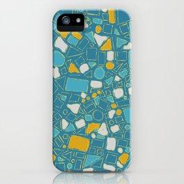 Geometric sketch iPhone Case