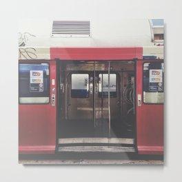 Paris train Metal Print