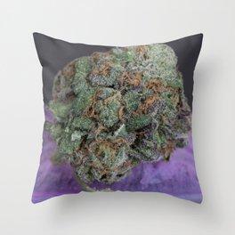 Grape Ape Medicinal Medical Marijuana Throw Pillow