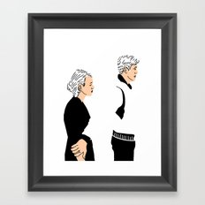 Strange Love: Lost in Translation Framed Art Print
