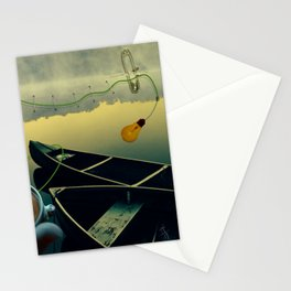Safety pins Stationery Cards