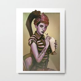 Widow 1900 Metal Print